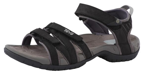 Teva W's Tirra Leather Sandals Black